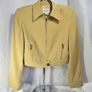 Emanuel Ungaro Silk Blend Jacket